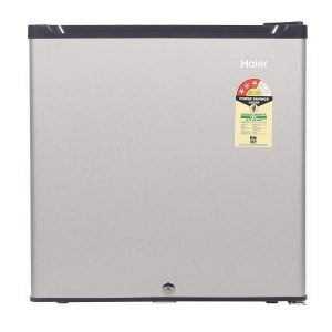 Haier 52 L (HR-62VS) 3 StarDirect Cool Single Door Refrigerator, Silver