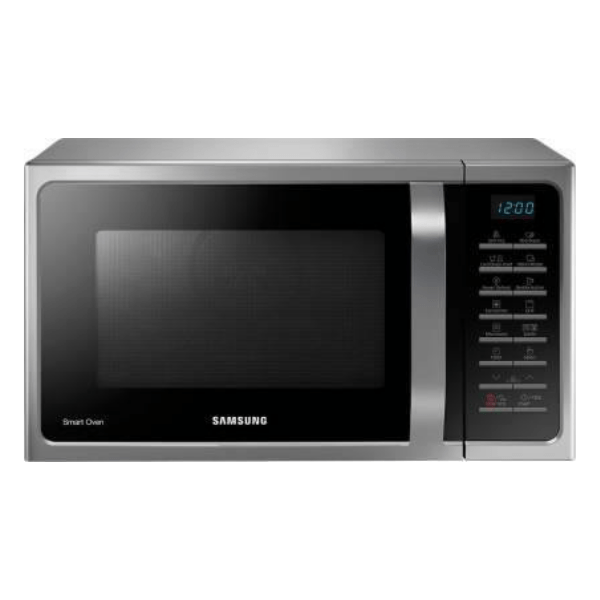 Samsung 28 L Convection Microwave Oven (MC28H5025VS/TL, Silver) with free bowl set