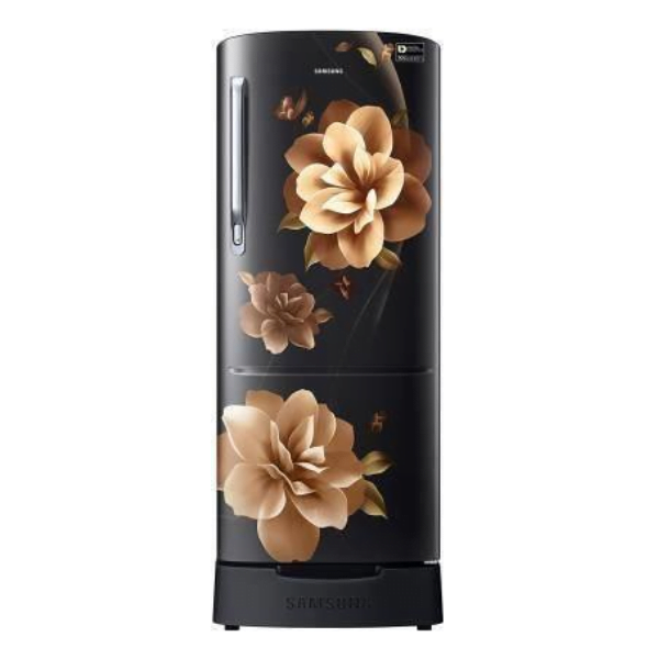 Samsung (RR20A282YCB/NL) 192L Single Door 3 Star (2021) Refrigerator, Camellia Black