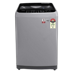 LG T70SJSF1Z 7.0 Kg 5 Star Smart Inverter Fully-Automatic Top Loading Washing Machine (Middle free Silver, TurboDrum)