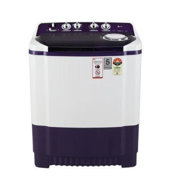 LG P8035SPMZ, 8 Kg 5 Star Semi-Automatic Washing Machine (Purple)