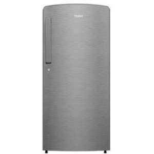 Haier 192 L (HRD-1922CBS-E) 2 Star Direct-Cool Single Door Refrigerator, Brushline Silver