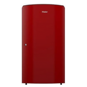Haier 171 liters (HRD-1712BR-E) 2 Star Single Door Refrigerator, Burgundy Red