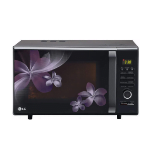 LG 28 L Convection Microwave Oven (MC2886BPUM, Floral Purple, Diet Fry, With Starter Kit)